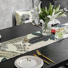 時尚可愛空間餐桌布 茶几布 隔熱墊 鍋墊 杯墊 餐桌巾桌旗 534 (30*160cm)