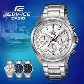 CASIO 卡西歐 手錶專賣店 EDIFICE EFR-527D-7A 男錶 不鏽鋼指針錶帶 計時碼表 日期顯示 防水