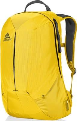 Gregory 美國品牌 15吋筆電 10吋平板隔層 電腦後背包~ 黃色 (Sketch 22)