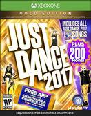 X1 Just Dance 2017 黃金版(美版代購)