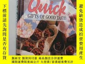 二手書博民逛書店Quick罕見gifts of good taste 如何製作美