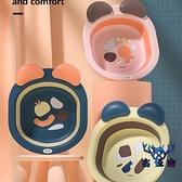 可折疊小面盆初生嬰兒洗臉盆新生兒面盆兒童卡通【古怪舍】