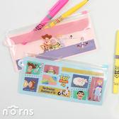 【日貨Bic經典筆&筆袋套組 玩具總動員】Norns 鉛筆盒 日本文具 金夾原子筆 螢光筆