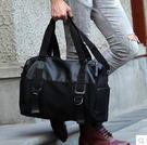 韓版男士旅行包手提包...