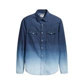 Levis 男款 牛仔襯衫 / 休閒版型 / 漸層水洗