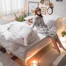 Life素色系列-天使白 S2單人床包雙...