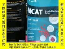 二手書博民逛書店MCAT罕見Organic Chemistry Review: