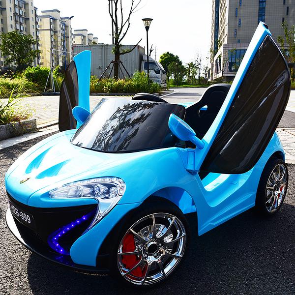 幼之圓*麥拉倫款超級跑車~兒童電動遙控童車~2.4G智能遙控+搖擺功能~超炫燈光~