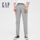 Gap男裝 簡約風格直筒休閒長褲 440943-淺灰色