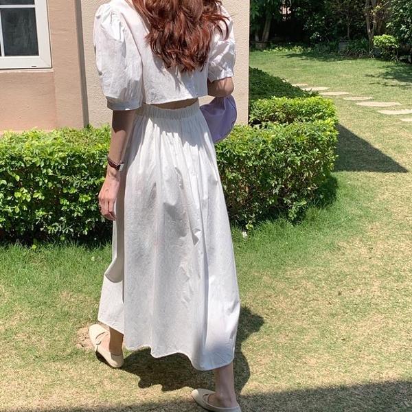 胖妹妹大碼洋裝連身裙~小心機設計感 收腰露背連身裙KK021莎菲娜