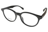 HUGO BOSS 光學眼鏡 HB0817F RAJ (亮黑-木紋黑) 復古木紋拼接款 # 金橘眼鏡