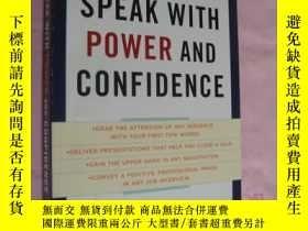 二手書博民逛書店Speak罕見with Power and Confidence