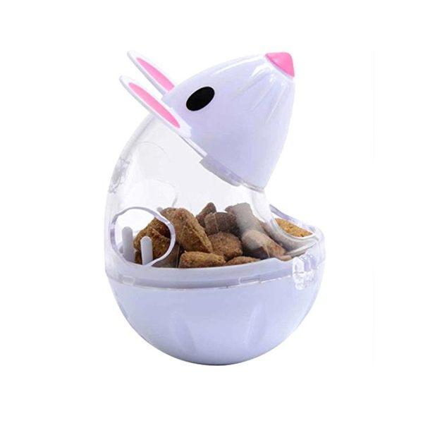 不倒翁漏食球老鼠貓玩具貓咪漏食器貓用品益智寵物玩具  可然精品鞋櫃