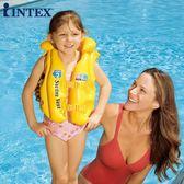 ?INTEX兒童救生衣浮力背心嬰兒游泳裝備寶寶水上馬甲漂流泳衣泳圈 生活樂事館NMS