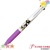 【京之物語】現貨-日本製造迪士尼米妮uniJETSTREAM三色圓珠筆 白夾紫管 日本限定色