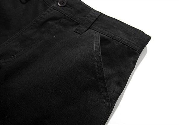 找到自己品牌 時尚潮流 男 純色 工裝 圓口袋 短褲 戶外休閒褲