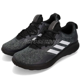 adidas 慢跑鞋 Purebounce Street W 黑 銀 舒適緩震 女鞋 運動鞋【PUMP306】 BC1031