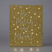 祝福語LED裝飾畫-黃