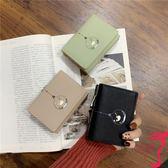 短夾 錢包女短款韓版簡約學生小錢夾可愛小清新迷你零錢包卡包