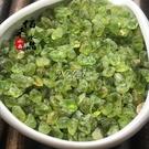 水晶石 天然橄欖石水晶碎石佛教五行原石風水石魚缸花盆造景裝飾石供佛 快速出貨