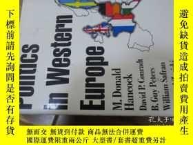 二手書博民逛書店politics罕見in western europeY5763