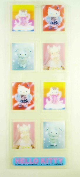 【震撼精品百貨】Hello Kitty 凱蒂貓~KITTY季刊貼紙-彩色(婚紗)