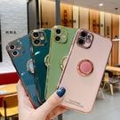 電鍍軟殼iPhone6/6s/7/8保護殼 IPhone XR手機殼指環支架 蘋果11Pro Max手機套 蘋果X/Xs Xs Max保護套