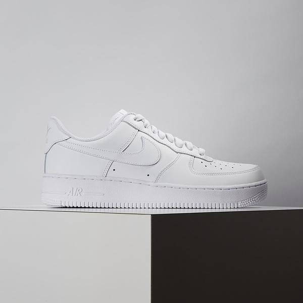 Nike Air Force 1 07 男鞋 白 經典 簡約 皮革 休閒鞋 CW2288-111