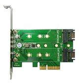 伽利略 PCIe 4X M.2 SSD 轉接卡(M2PE1S2)