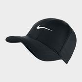 NIKE FEATHERLIGHT CAP 老帽 棒球帽 透氣 排汗 黑 【運動世界】 679421-010