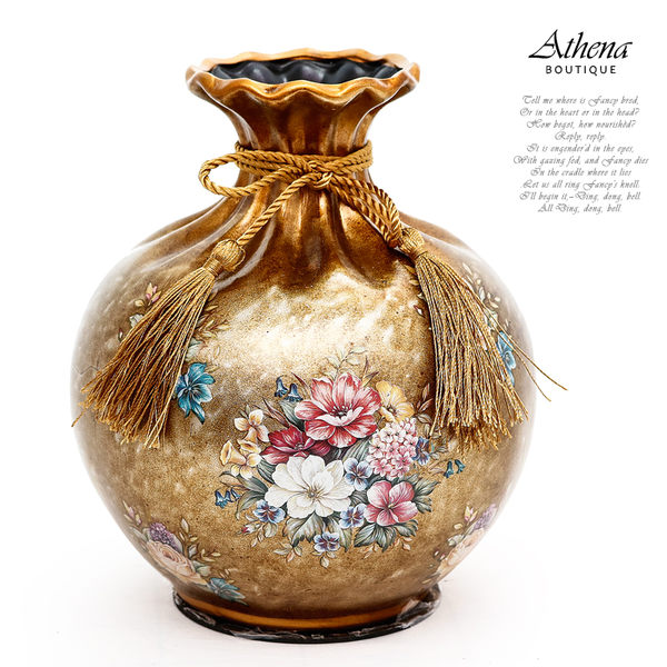 【雅典娜家飾】歐式結婚陶瓷花瓶-EH52