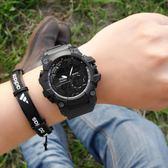 多功能戶外男表學生雙顯夜光防水電子表青少年運動初中生手錶軍表中秋禮品推薦哪裡買