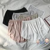內搭短褲 安全褲女夏裝新款防走光短褲高腰薄款光面內搭外穿打底褲 3色【快速出貨】