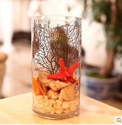 感恩節促銷透明玻璃花瓶