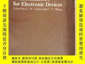 二手書博民逛書店heteroepitaxial罕見semiconductors for electronic devices(P2