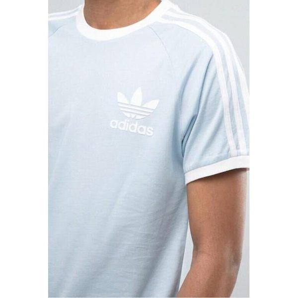 愛迪達 Adidas 三葉草 經典三線 三槓 粉紅BQ5371 粉藍BR4736 短袖T恤 圓領上衣 T恤 情侶裝/澤米