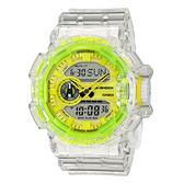 CASIO 手錶專賣店 卡西歐 G-SHOCK GA-400SK-1A9 雙顯 橡膠錶帶 抗磁 耐衝擊 防水200米