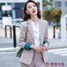 炸街網紅西裝外套女韓版2020新款秋冬氣質黑色上衣小西服套裝正裝【快速出貨】