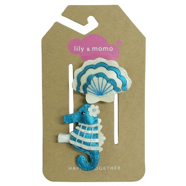 【美國 Lily & Momo】手工童趣髮飾- 海洋世界 #HCA347