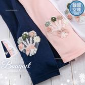 韓國童裝~幸福小花束棉質內搭褲-3色-小公主搭洋裝必備(270422)【水娃娃時尚童裝】