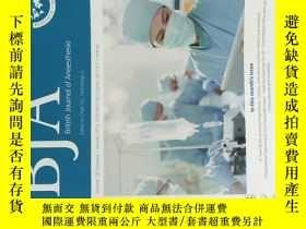 二手書博民逛書店BJA:罕見British Journal of Anaesthesia VO.120 NO.1 01 2018