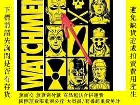 二手書博民逛書店英文原版罕見Watchmen 守望者 DC漫畫 DC超級英雄漫畫