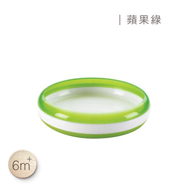 美國 OXO tot幼兒餵食防滑餐盤(蘋果綠)