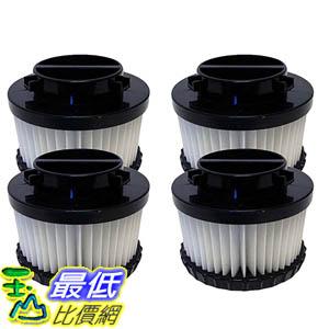 [106美國直購] 4 Highly Durable Washable & Reusable Dirt Devil Style F9 HEPA Filters 3DJ0360000, 2DJ0360000