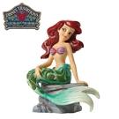 【正版授權】Enesco 小美人魚 塑像 公仔 精品雕塑 艾莉兒 Ariel 迪士尼 Disney - 394017