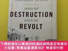二手書博民逛書店Days罕見of Destruction, Days of RevoltY189174 Chris Hedge