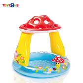 INTEX 可愛蘑菇兒童池(102*89cm)