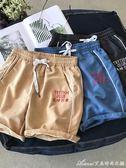港風夏季潮流男生寬鬆運動五分褲學生休閒短褲沙灘褲艾美時尚衣櫥
