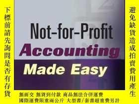 二手書博民逛書店Not-for-Profit罕見Accounting Made Easy, 2nd EditionY41001