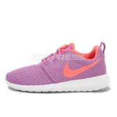 WMNS Nike Roshe One BR [724850-581] 女鞋 運動 休閒 潮流 紫 白